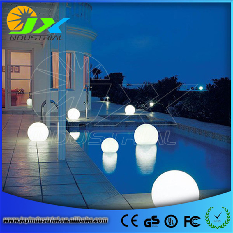 30cm Floating LED Pool Glow Light Orb Ball Outdoor or indoor lithium battery Living Garden Light Decor