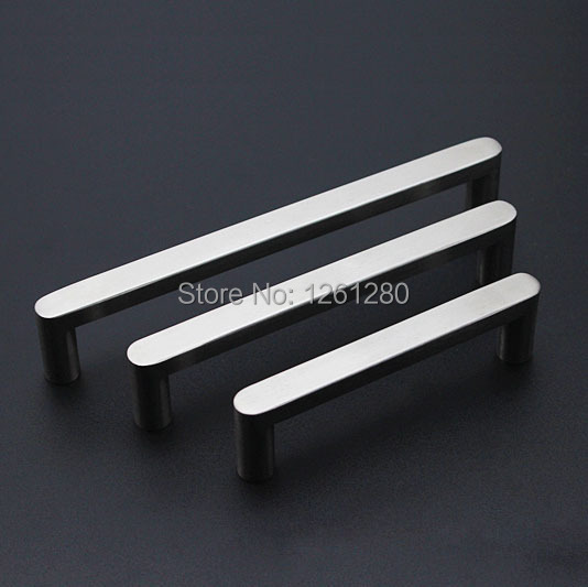 free shipping furniture handle knob 140mm stainless steel handle wine cooler drawer handle shoe cupboard door handle hardware mini stainless steel handle cuticle fork silver