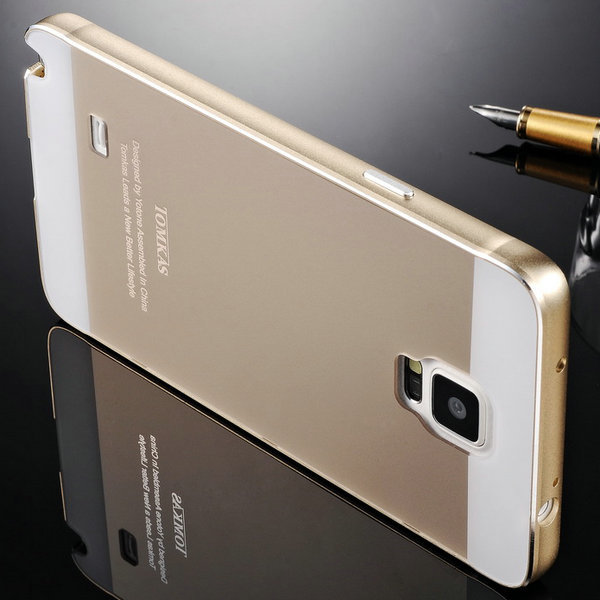 half off 7bd58 1e65a Note4 Tomkas Brand Aluminum Case For Samsung Galaxy Note 4 N9100 ...