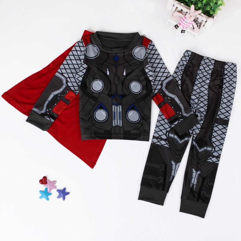 5ae0196f9da8 Detail Feedback Questions about Avengers Kids Boys Superhero Pajamas ...
