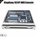 Dj контроллер Creator Kingkong 1024 Pro включая корпус 1024p световая микшерная консоль включает пылезащитный чехол и кейс для полета для большого шоу