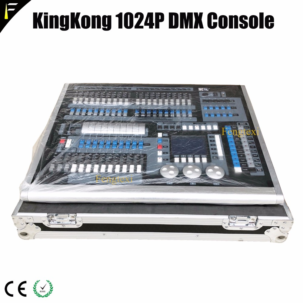 Us 1139 0 Dj Controller Creator Kingkong 1024 Pro Incl Case 1024p Light Mixer Console Include Dust Cover And Flight For Show In Stage