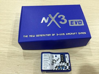 New Generation Of 3 Axis Aircraft NX3 Evo Fixed Wing Flight Control One Key Rescue Drone