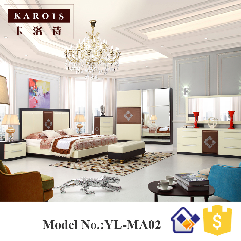 High quality master bedroom furniture bedroom set hotel for High quality bedroom furniture