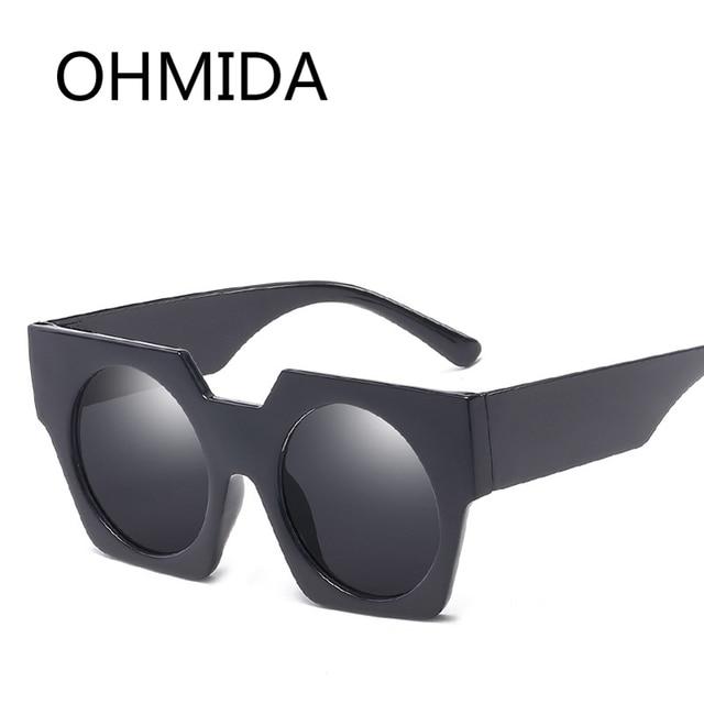 bdb34bc7118 OHMIDA Hot Sale Retro Round Sunglasses Women Men Vintage Black Color Sun  Glasses Female Shades Eyewear