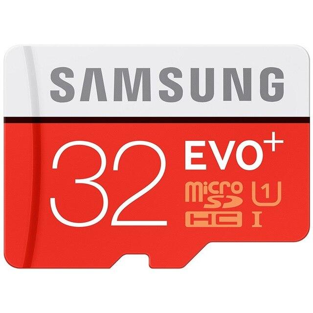 SAMSUNG 32G 64G 128G Memory Card Micro SD SDHC SDXC TF80M Grade EVO+ Class 10 Micro SD C10 UHS TF Trans Flash Microsd Max 80MB/s