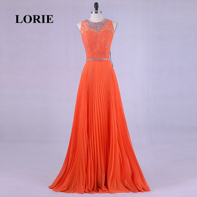 LORIE Elegant Plus Size Evening Gowns for Women O Neck Beaded With ...
