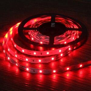 Image 4 - Светодиодная лента 2835 RGB, 5 м, 300 светодиодов, 12 В постоянного тока, красный, зеленый, синий, теплый белый, холодный белый, гибкая SMD 2835, светодиодная Диодная лента, лента, лампа