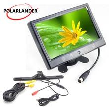 9 zoll TFT Bildschirm Auto Monitor Mit Wireless Lange Lichtlosen Versteckte GPS Nachtsicht Parkplatz Monitor LED Hinten Kamera