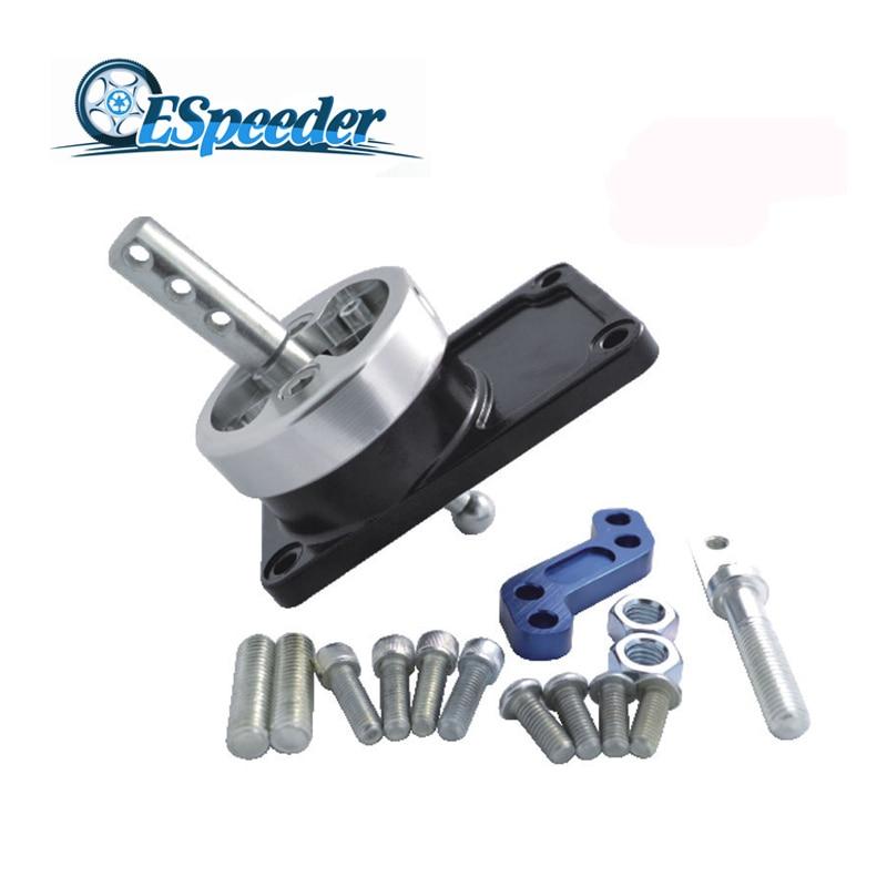 ESPEEDER Aluminum Racing Short Throw Shifter For Ford 83-03 Mustang T5 T45 T-5 T-45 89 90 91 92 93 переключатель поворотов ford scorpio 89 93