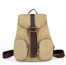 Мода школьников рюкзаки прилив ретро Англии Колледж Ветер холст backpack1071
