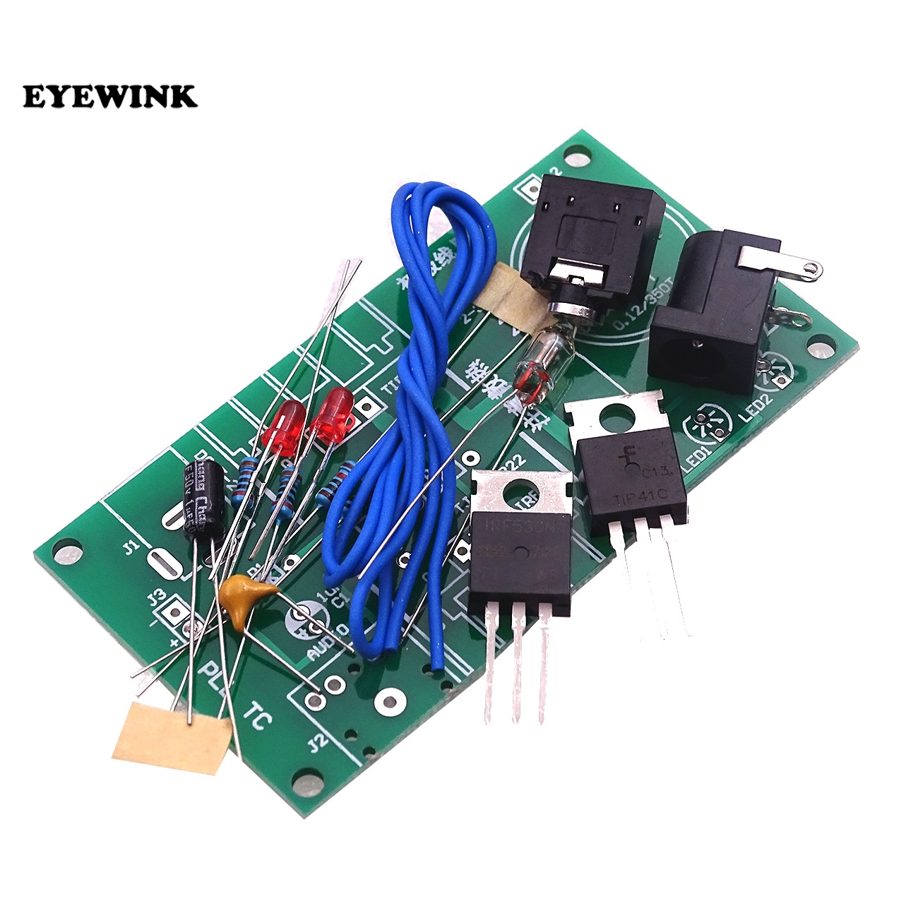 US $3 69 |15W Mini Tesla Coil Plasma Speaker Kit Music Wireless  Transmission Board Module DC 15 24V For DIY-in Integrated Circuits from  Electronic