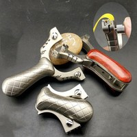 New portable hunting slingshot titanium slingshot hunting outdoor sports competition