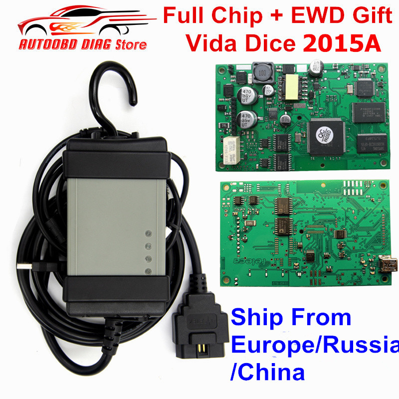 Newest For Volvo Vida Dice 2015A 2014D Full Chip Car Diagnostic Tool Multi Language Dice Pro