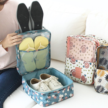 New version Folding and waterproof travel bag shoe pouch storage bag 4 colors Free shipping