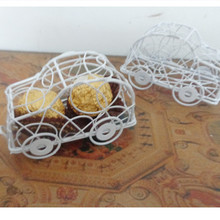 Metal Car Brithday package Wedding Gifts Candy Boxes baby shower Party Supplies gift box 30pcs