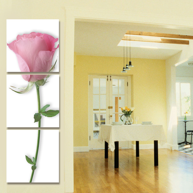 Print Poster Canvas Wall Art Beautiful Roses Decoration Art Oil ...