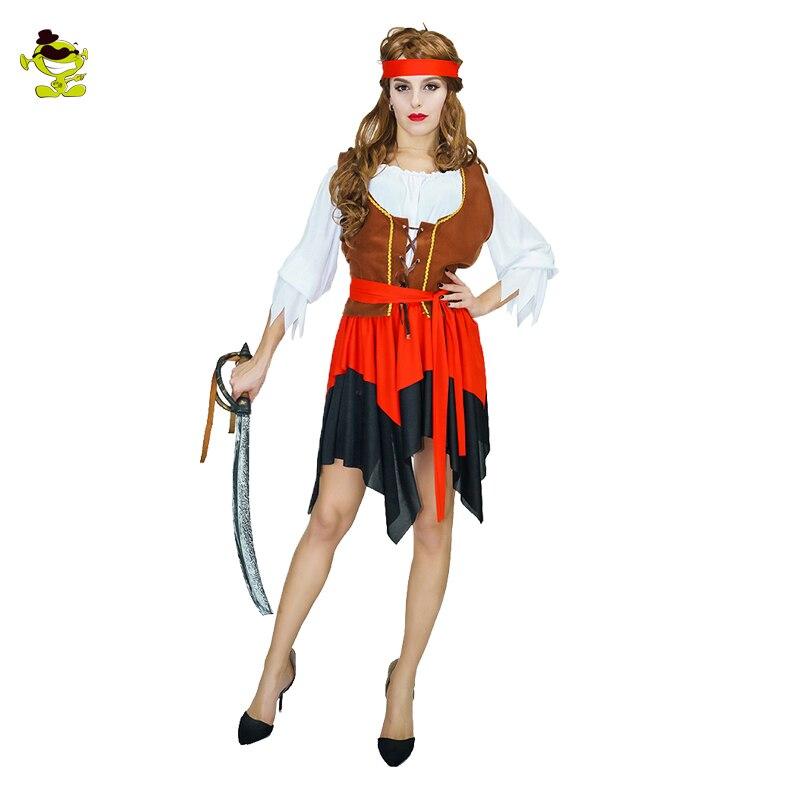 2018 Նոր Կարիբյան ծովահեն զգեստները - Կարնավալային հագուստները - Լուսանկար 5
