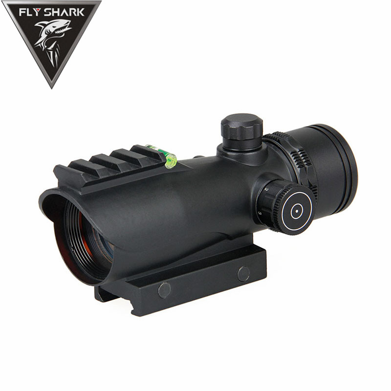 Fly Shark Red Dot Sight Tactical Military 5MOA Red Dot IR Illumination For Hunting Shooting Rifle Gs2-0112