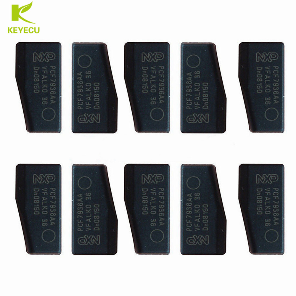 PCF7936AS Updated 10PCS Original PCF7936AA ID46 Chip For Honda//Nissan//Acura