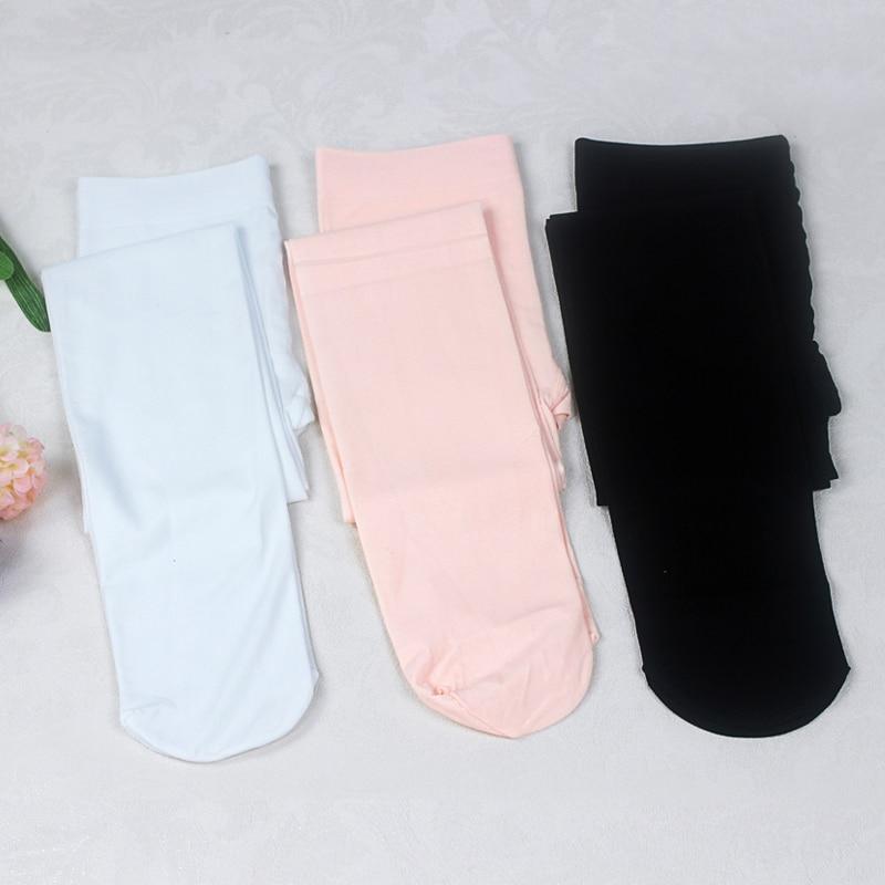 Fashion Nude Black White Footed Kid Tights Nylon Leggings Girls Children Ballet Dance -7422