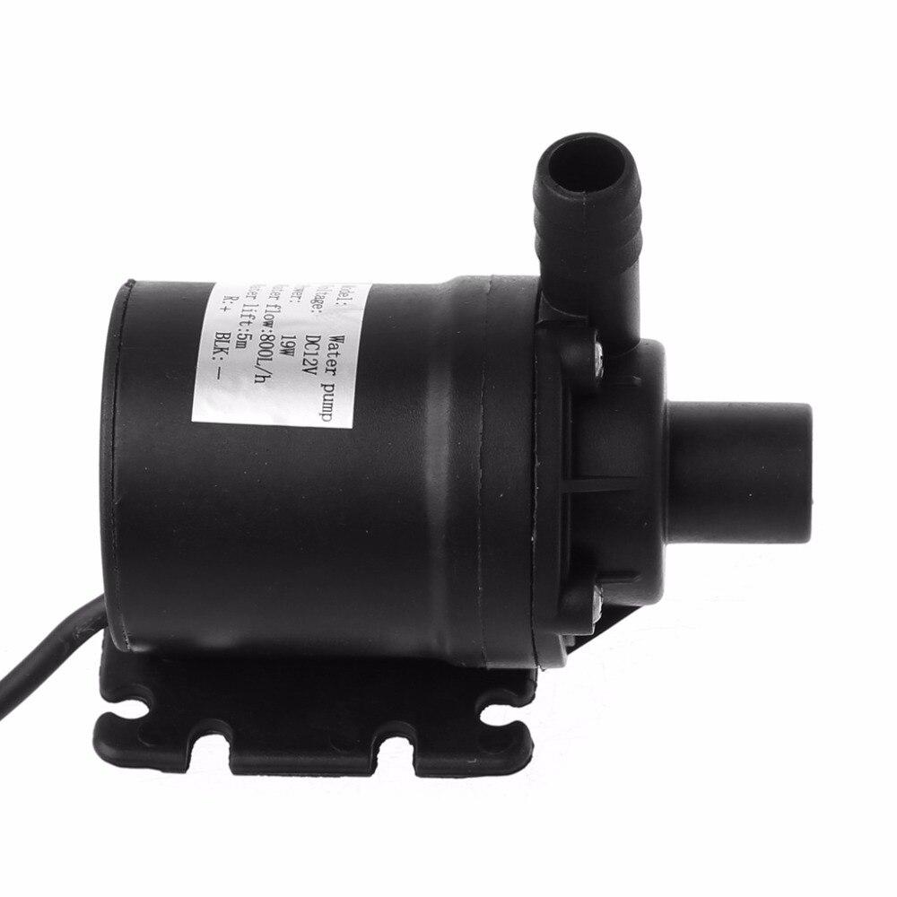800L/H 5 mt Wasser Pumpe DC 12 v Solar Bürstenlosen Motor Durchblutung Tauch Wasser Pumpen 22 watt
