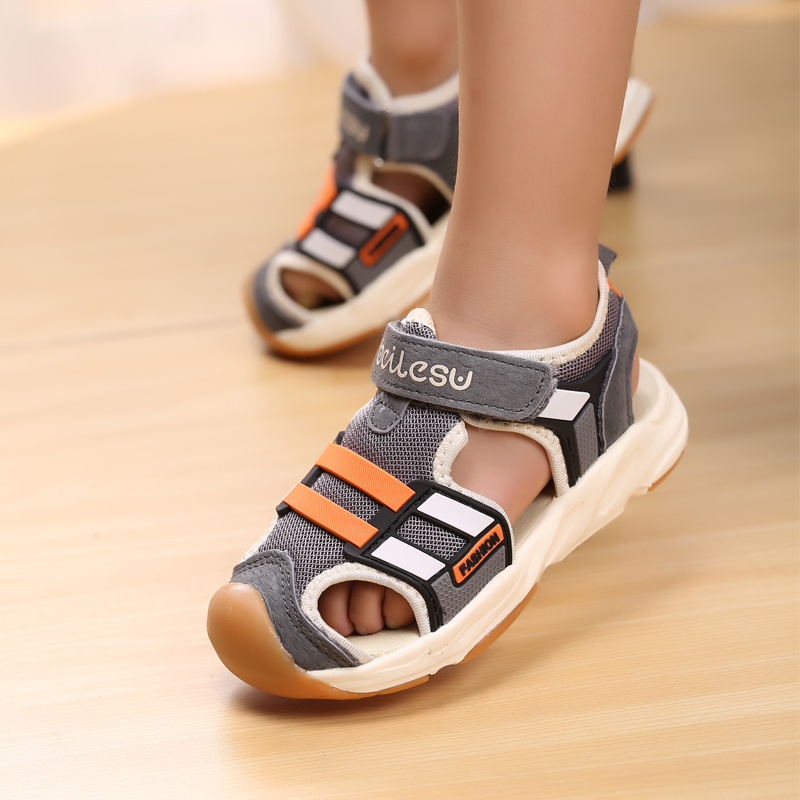 Summer Toddlers Boys Sandals kids Shoe Functional Baby Girls Sport Sandals Designer Sneakers For Children Soft Sole Beach Sandal