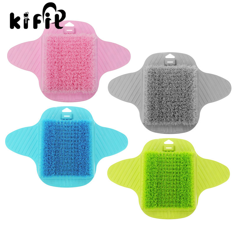 KIFIT Bath Blossom Foot Scrub Brush Exfoliating Feet Scrubber Massager Washer Spa for Shower Massage Foot Care Tool скраб artdeco deep exfoliating foot scrub deep relaxation