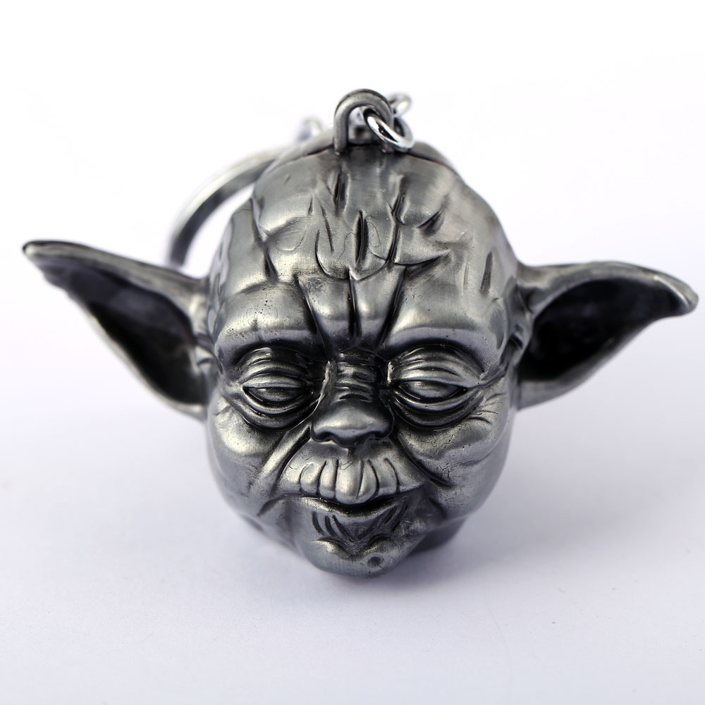 MS Jewelry Star Wars Key Chain Master Yoda Key Rings For Gift Chaveiro Car Keychain Movi ...