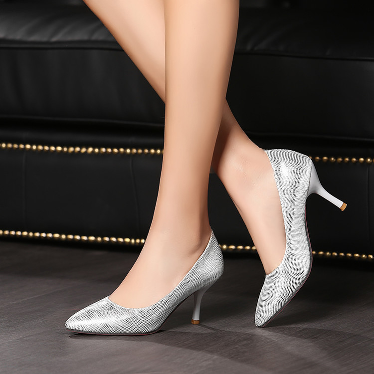 Fashion Platform Pumps Sexy High-heeled Shoes Heels Pointed Toe Platform Shoes Women's Wedding Prom Shoes Big Size 34-45 C216 big size sale 34 48 new fashion sexy pointed toe women pumps platform pumps high heels ladies wedding party shoes 317