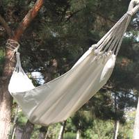 Canvas Hammock Leisure Camping Canvas Hammock Outdoor Leisure Canvas Sleeping Bag Hammock To Send Rope