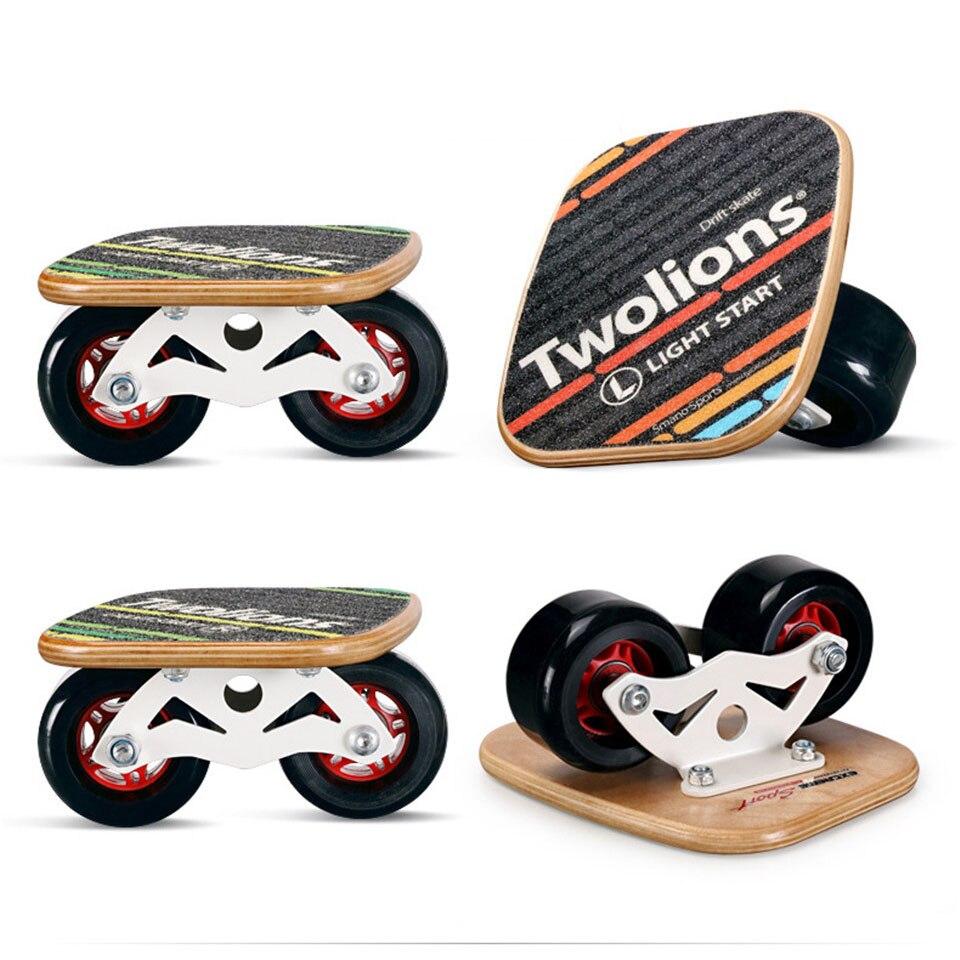 Drift Junta Twolions madera para Freeline de carretera deriva patines antideslizante cubierta de monopatín patines Freeline Wakeboard envío gratis K03