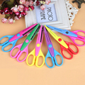 SST* 1pcs/lot Laciness Scissors Metal and Plastic DIY Scrapbooking Photo Colors Scissors Paper Lace Diary Decoration +