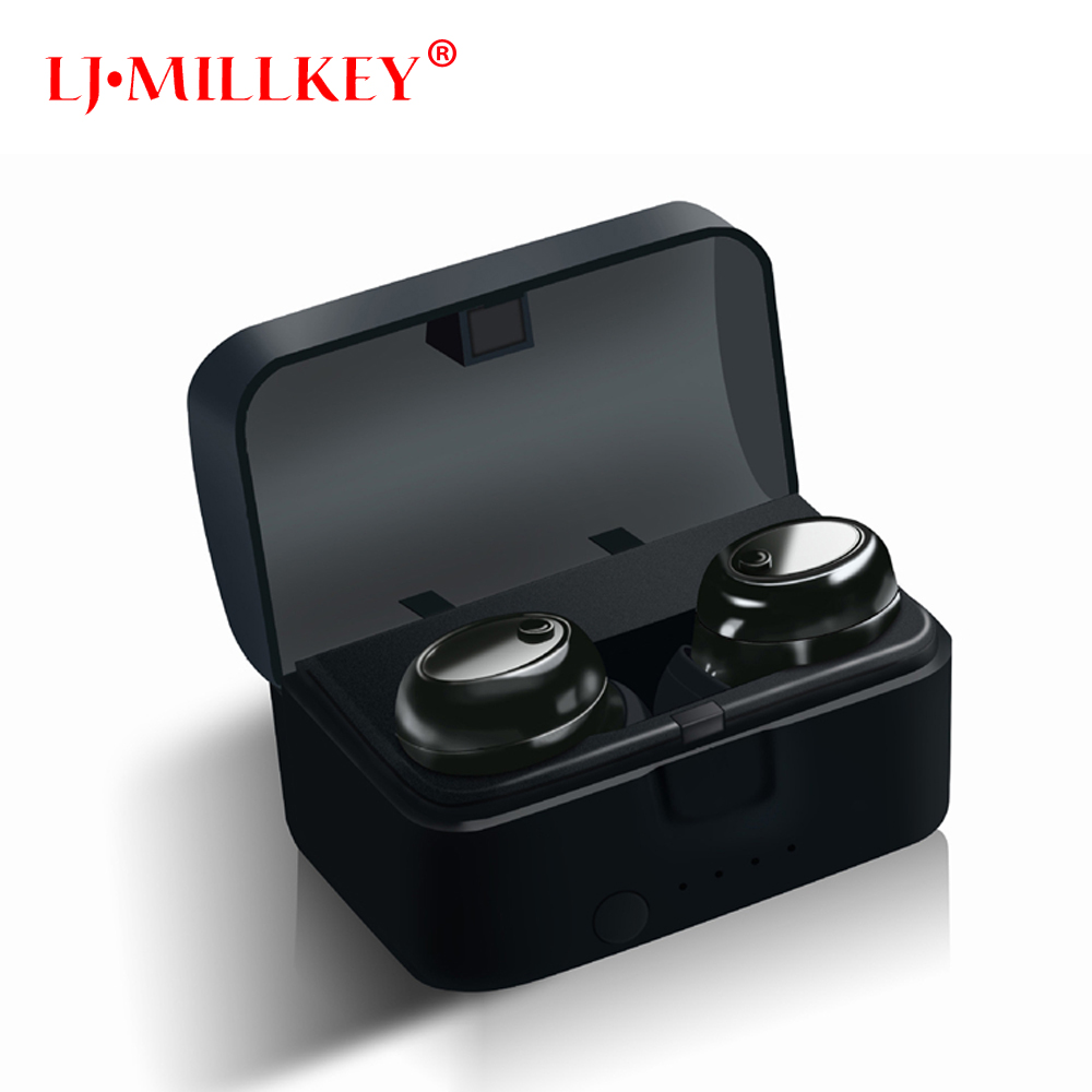 Bluetooth Earphone Charging Case Mini Wireless Inear Earpieces Handsfree TWS Bluetooth Earbuds True Wireless Stereo YZ139