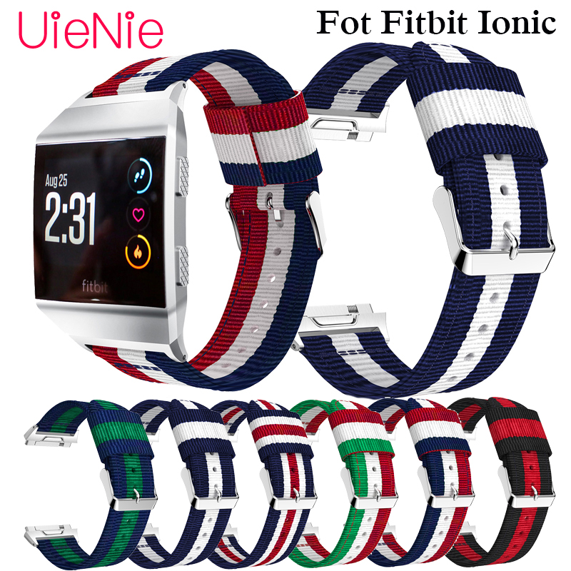 Nylon leisure replacement watch strap For Fitbit Ionic Fashion/Classic band For Fitbit Ionic smart watch wristband accessoriesNylon leisure replacement watch strap For Fitbit Ionic Fashion/Classic band For Fitbit Ionic smart watch wristband accessories