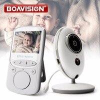 LCD inalámbrico Audio Video Baby Monitor VB605 Radio Nanny música intercomunicador IR 24 h bebé portátil bebé Walkie Talkie niñera