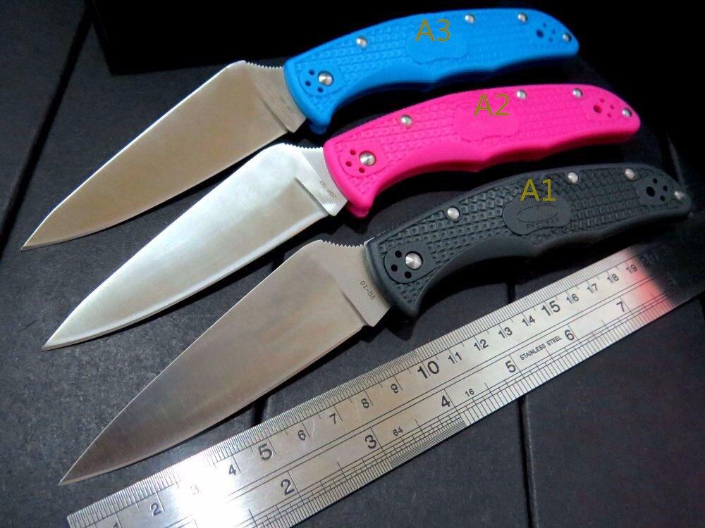 HOT CS GO Karambit Knives C10 SBK2 Matriarch2 Folding Knife 3-5/8 VG10 Serrated Blade knife Tactical Hunting Tools EDC Pocket