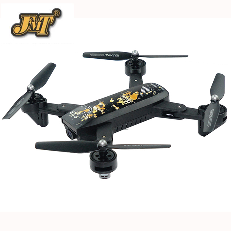 JMT DM107S Wifi Selfie Drone RC Drone Wide Angle 720P HD FPV Quadcopter Foldable Headless High Hold Mode Helicopter цена и фото