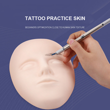 1set Silicone 3D Tattoo Microblading Practice Skin Permanent Makeup Accesories Supplies Artificial Fake for Training