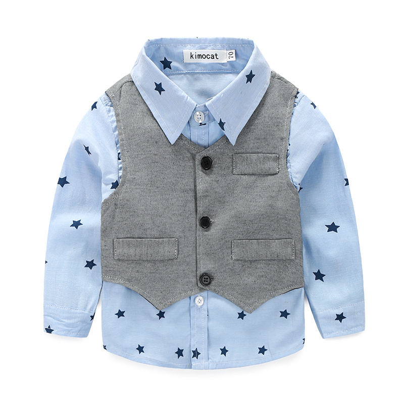 Lucky-Lucky-new-style-newborn-baby-gentlemen-boy-3pcsset-clothing-set-shirtvestcasual-pants-quality-baby-clothes-5