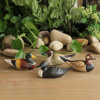 American Rural wild duck resin decoration wine shelf Home Furnishing wedding decorations study the living room decoration