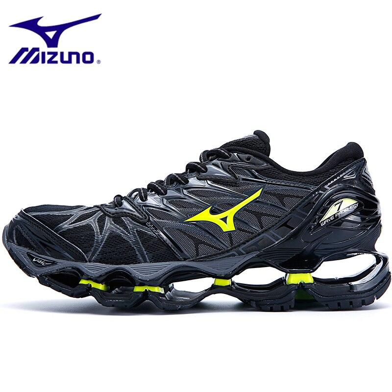 Mizuno Running Shoes Men MIZUNO WAVE Prophecy 7 Professional Men Shoes Outdoor Sport Sneakers Men Weightlifting