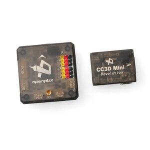Image 4 - 미니 Openpilot CC3D 혁명 비행 컨트롤러 DIY FPV 레이싱 드론 미니 RC Multicopter Quadcopter 210 250 330 F17008