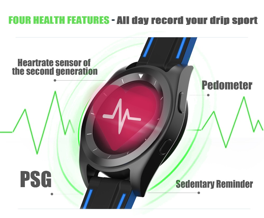 Original G6 Bluetooth 4.0 Smartwatch Heart Rate Monitor Smart Watch Fitness Tracker Sync for IOS Android SMS Apps Health Watch zaoyiexport bluetooth f69 smart watch ip68 fitness tracker heart rate monitor smartwatch for iphone xiaomi android pk gt08 dz09