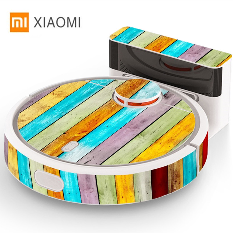 Sticker for XIAOMI MI Robot Vacuum Cleaner Beautifying Protective Film 1Piece xiaomi mi robotic vacuum cleaner cute sticker xiaomi robotic vacuum cleaner protective film