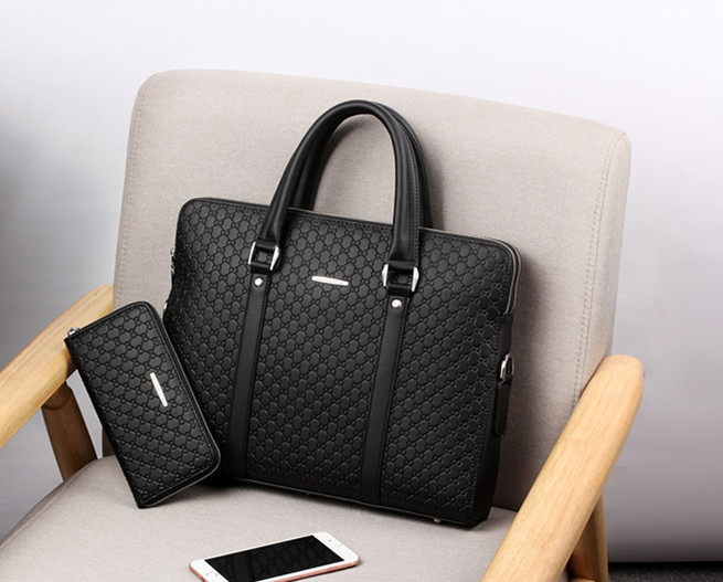 Black with wallet