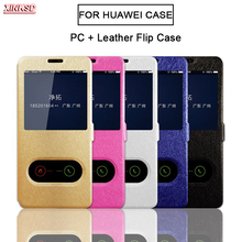 PU Leather Flip Cover for Huawei P8 P10 P20 pro P9 lite mini 2017 Y5 Y6