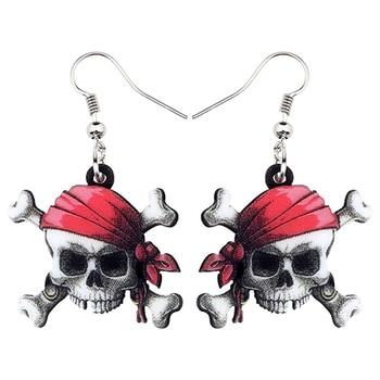 idée cadeau geek boucles d'oreilles pirates
