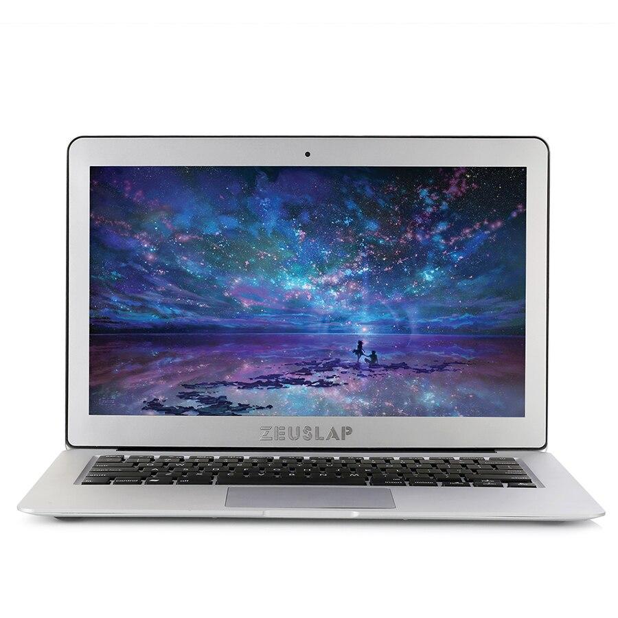 ZEUSLAP 13,3 дюйма Intel Core i5 Процессор 8 ГБ ОЗУ 128 ГБ ssd Windows 10 Pro 1920X1080 P ips FHD быстрый запуск ноутбука Тетрадь компьютер