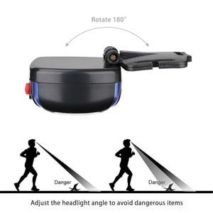 Image 5 - COB/6 LEDs Headlamp LED Headlight Mini Head Light Lamp Flashlight AAA Head Torch Portable Lantern For Night Fishing Dropshipping